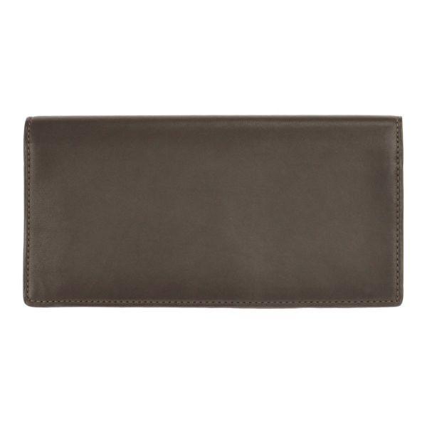 長財布(ブラウンの正面)