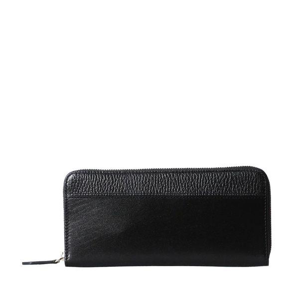 長財布(ブラックの正面)