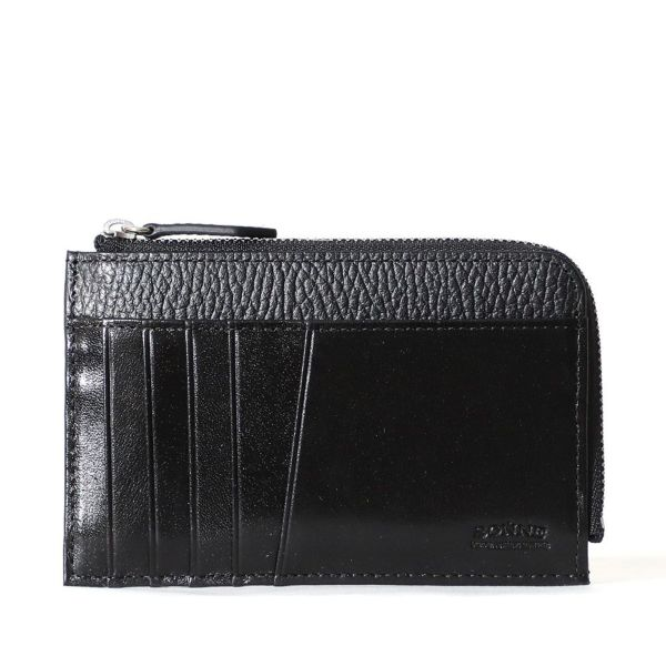 マルチ財布(ネイビーの正面)