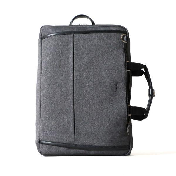 3WAYビジネスバッグ(ブラックの正面)