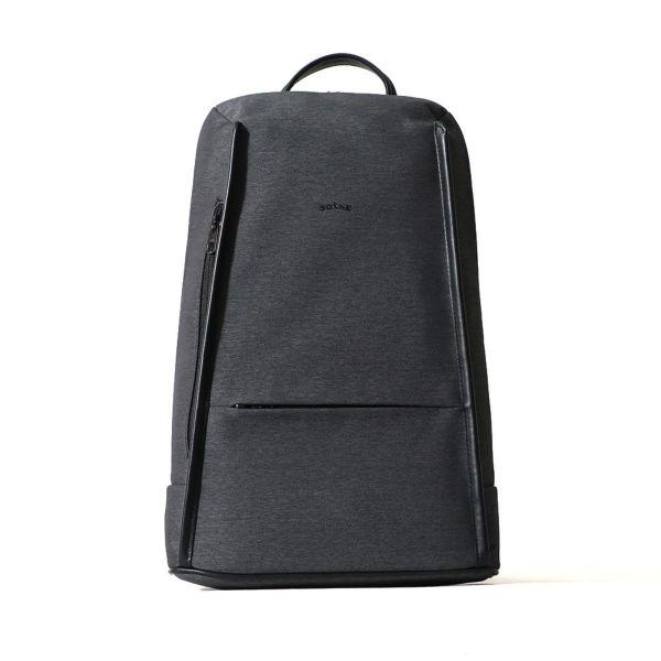 スリムビジネスバッグ(ブラックの正面)